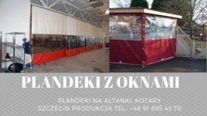 Plandeki z oknami Szczecin